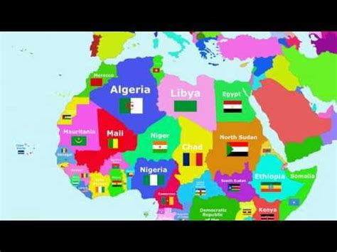 africa map song the countries of the world song africa
