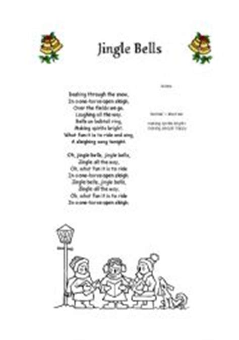 printable lyrics jingle bell rock best photos of jingle bells words jingle bells lyrics