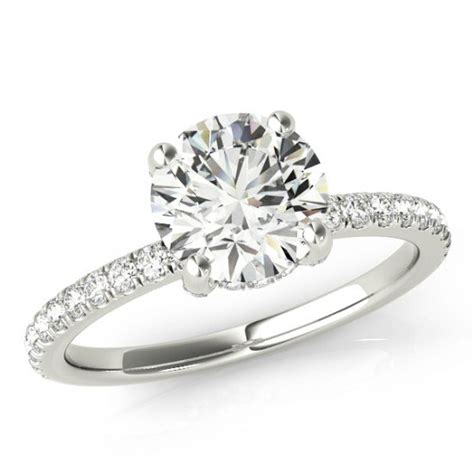 One Wedding Rings by Forever One Moissanite Engagement Rings For
