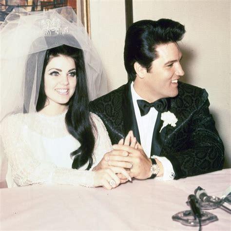 Elvis and Priscilla Presley Wedding Photos   Celebrity