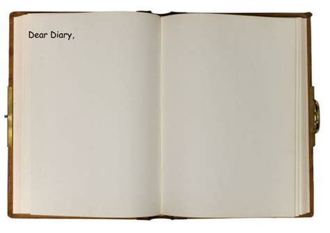 dear diary template diary open book writing frame by rosiefrancesca