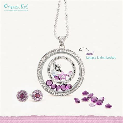 Origami Owl Ideas - origami owl s day 2016 new legacy locket living