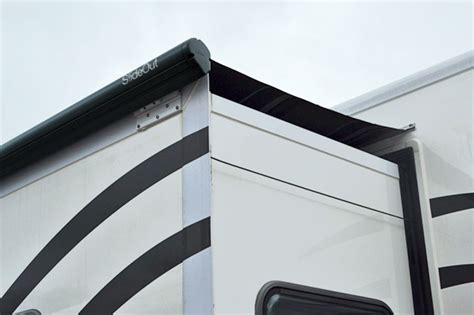 Slide Out Awning Installation by Fiamma Slideout Motorhome Awning Motorhome Awnings By