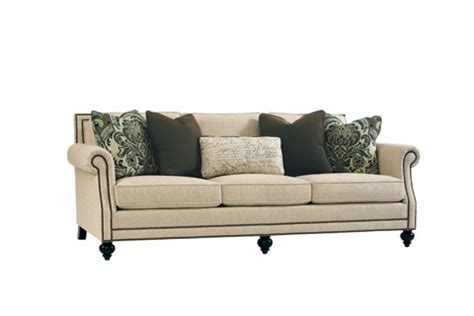 Sofas With Nailhead Trim by Brae Upholstered Sofa With Nailhead Trim B6717a