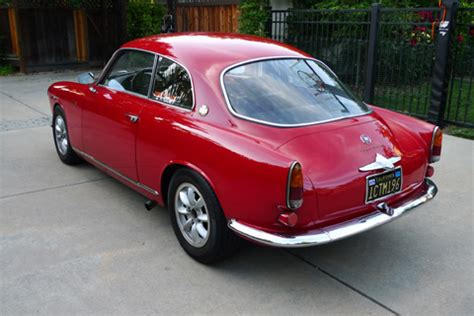 Vintage Alfa Romeo For Sale by From The Bat Stable 1960 Alfa Romeo Sprint Bring A Trailer
