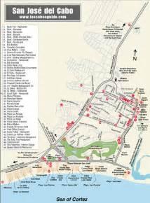 San Jose Del Cabo Map by San Jos 233 Del Cabo Map San Jose Del Cabo Mexico
