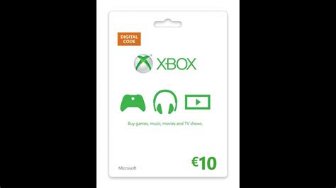What Is Xbox Live Gift Card - download xbox live 10 eur card cd key online 13 91