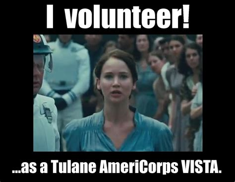 hunger meme on apply to be a tulane americorps vista hunger is not a