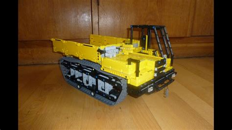 lego ideen zum nachbauen lego technic rubber crawler carrier moc