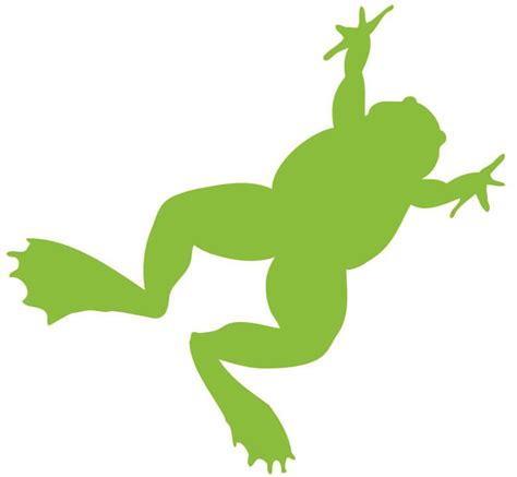 Silhouette Frog - ClipArt Best