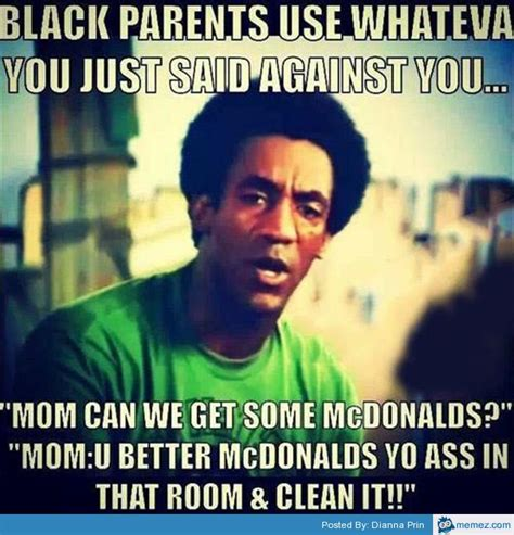 Parents Meme - funny parents meme black parents use whateva you just said