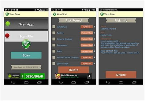 virus detector android t 233 l 233 charger virus scan android freeware
