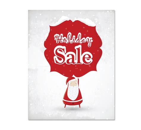 santa sale poster template dlayouts graphic design