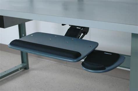 swing out keyboard tray stackbin workbenches ergonomic keyboard tray