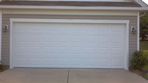 Garage Door 16 X8 Vinyl Back Insulated Ebay Garage Door Vinyl