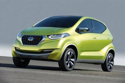nissan datsun hatchback datsun redi go hatchback to debut at auto expo to be