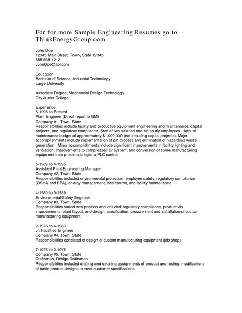 resume sle layout 28 images associate degree resume in