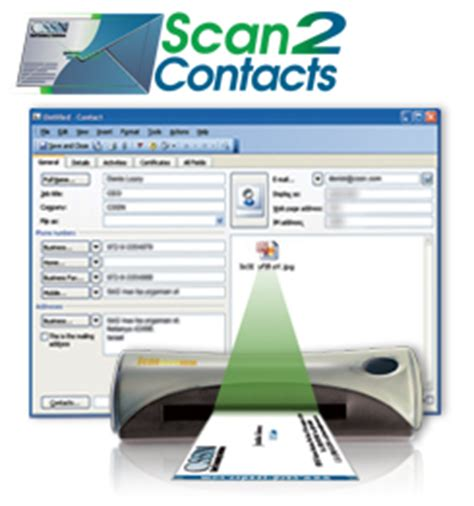 Business Card Scanner Outlook