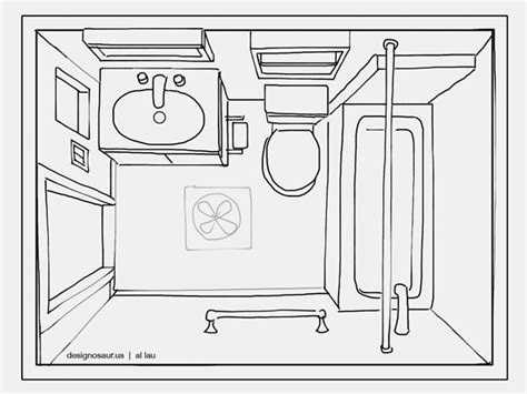 sketch of bathroom 301 moved permanently