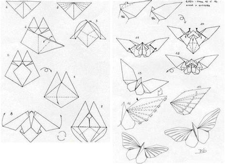 How Do You Make A Paper Butterfly - how to make paper origami butterfly www fabartdiy