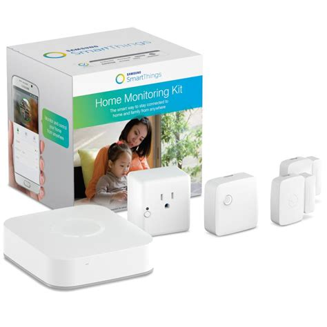 samsung smartthings home monitoring kit home
