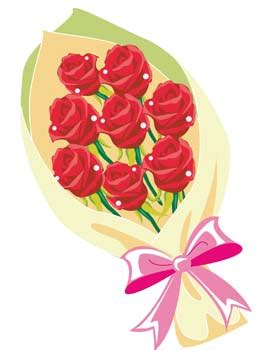 a florist is advertising five types of bouquets bouquet of flower 6 clip arts clip clipartlogo