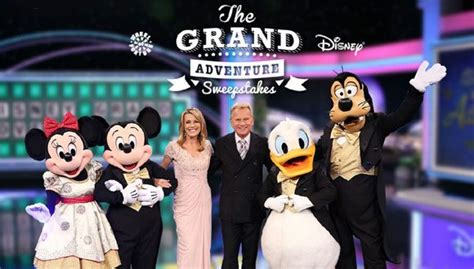 Disney World Sweepstakes 2017 - wheel of fortune grand adventures sweepstakes daily puzzle solutions
