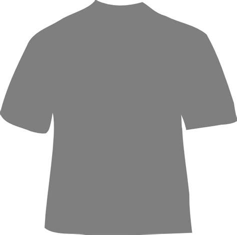 grey shirt clip art at clker com vector clip art online