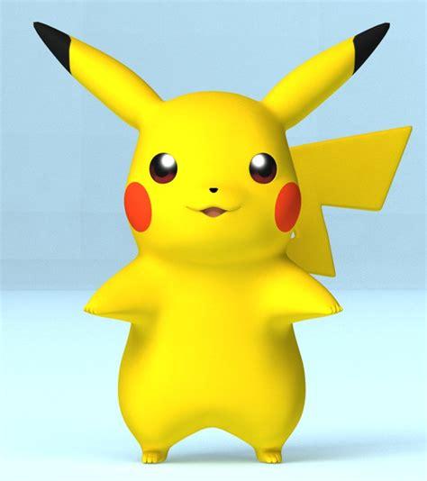 3d Pikachu Model pikachu 3d model