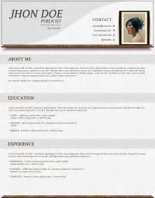 curriculum vitae templates free best photos of cv template cv format