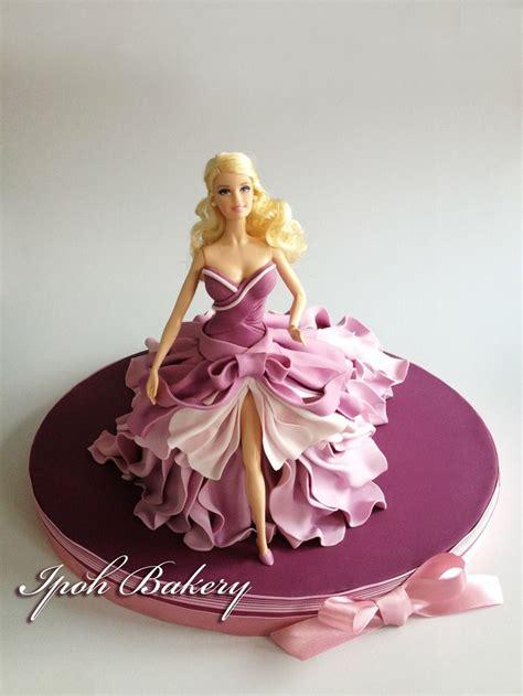 barbie doll fondant cake  ipoh bakery  yummy pics beautiful picsno recipesjust ideas