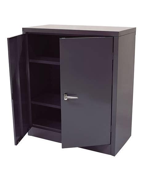 """International 42"""" Tall 2 Door Metal Cabinet"""