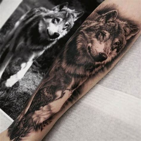 realistic wolf tattoo 50 of the most beautiful wolf designs the