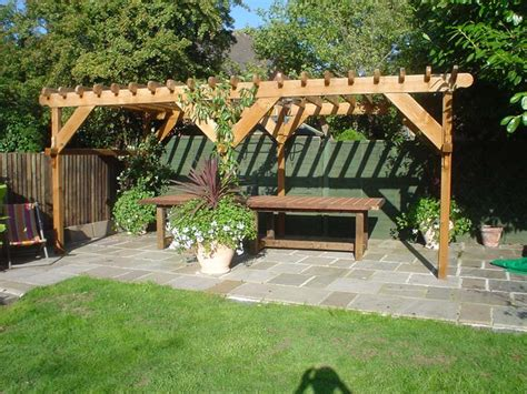 Backyard Kits by Triyae Backyard Pergola Kits Various Design Inspiration For Backyard