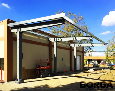 Carport Structure by Solar Panel Structures Borga