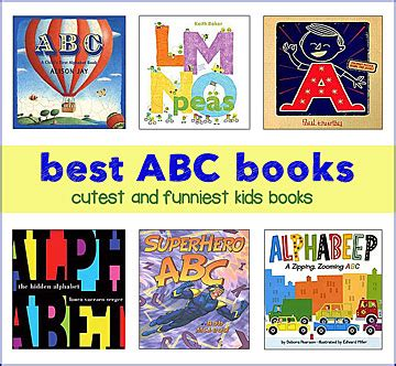 abc picture book teaching the alphabet with great children s books