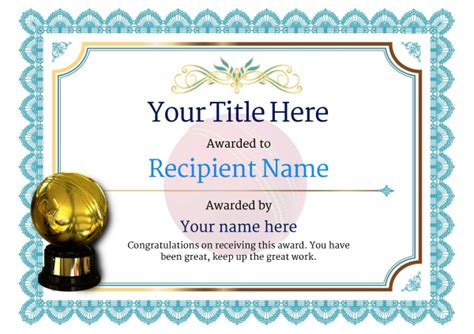 man of the match certificate template free cricket