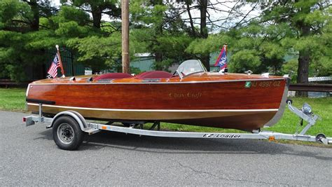 chris craft reproduction boats chris craft deluxe runabout 1935 for sale for 19 500