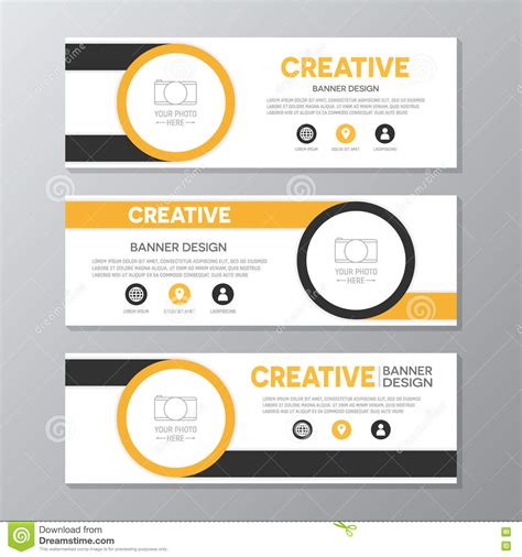 design banner cantik banner layout printable banner template