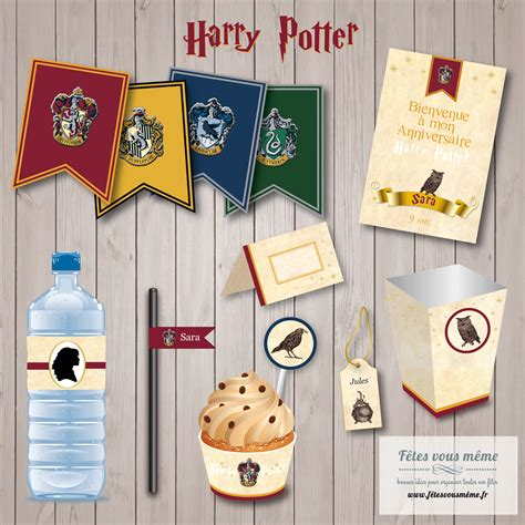 Decor Harry Potter by Kit D 233 Co Harry Potter Kit Anniversaire Harry Potter