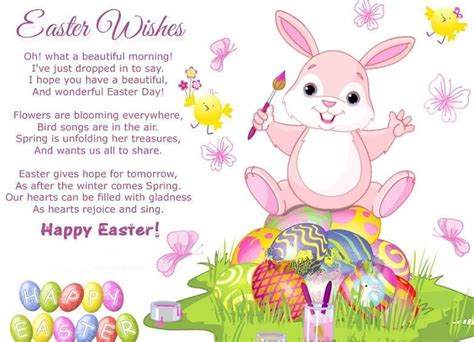 happy easter poems easter  pomes wishes images happy easter  quotes  kids