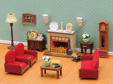 140 Best Calico Critters Doll House Stuff Images On Sylvanian Families Luxury Living Room Set