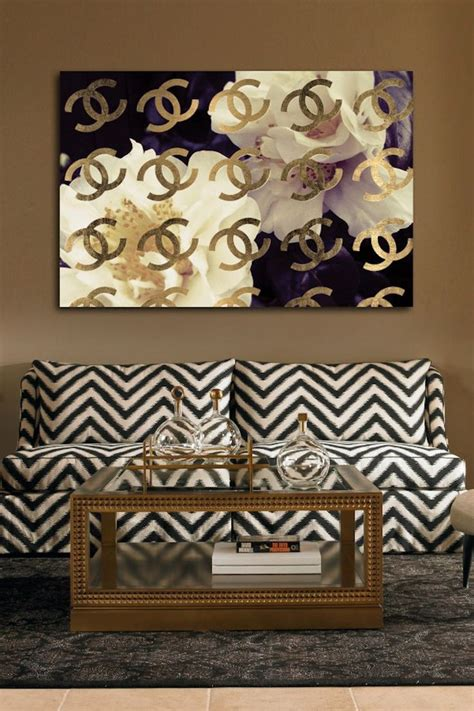 hautelook home decor oliver gal cocos gold camellia canvas art on hautelook