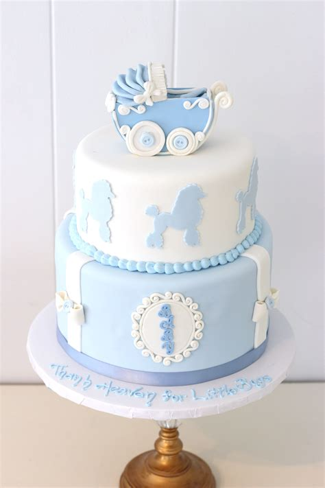 Fondant Baby Shower Cake by Custom Baby Shower Gender Reveal Cakes In Sussex County
