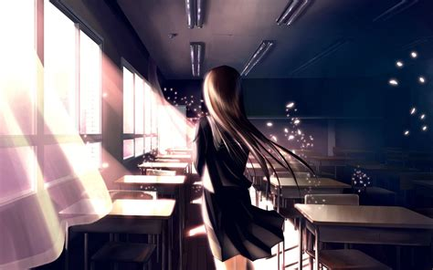 wallpaper girl school anime school girl hd anime 4k wallpapers images