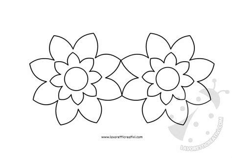 fiori per bambini da colorare maschere per bambini con fiori da colorare lavoretti