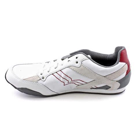 diesel athletic shoes diesel eagle loop mens size 9 white textile athletic
