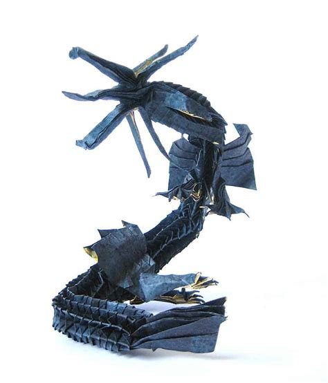 Eastern Origami - 18 eastern style origami dragons origami me