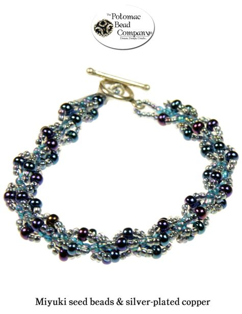 potomac bead company pin by potomac bead company on jewelry inspiration blue