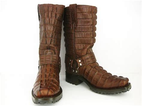 mens brown leather biker boots 9 best s motorcycle boots images on